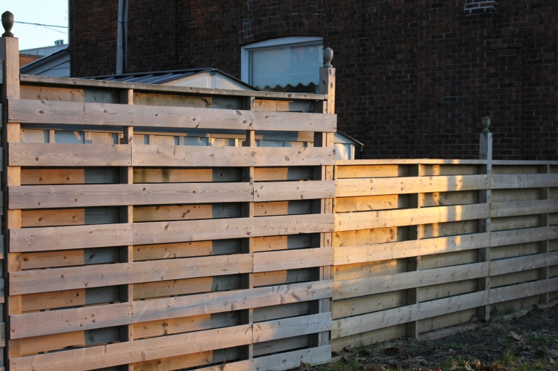 Privacy Fence Design Plans