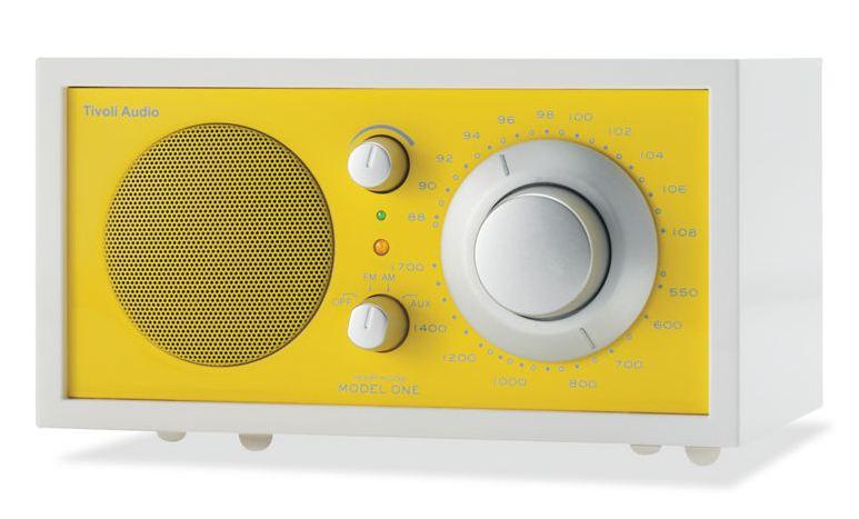 small kitchen radio