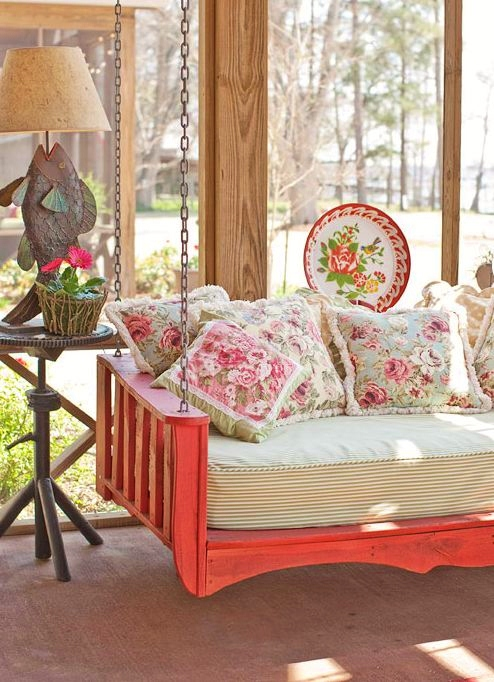Summer porches modmissy for House with porch swing