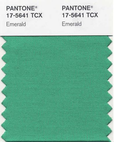 2013 Pantone Color of the Year - Emerald