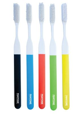 Pantone color toothbrushes
