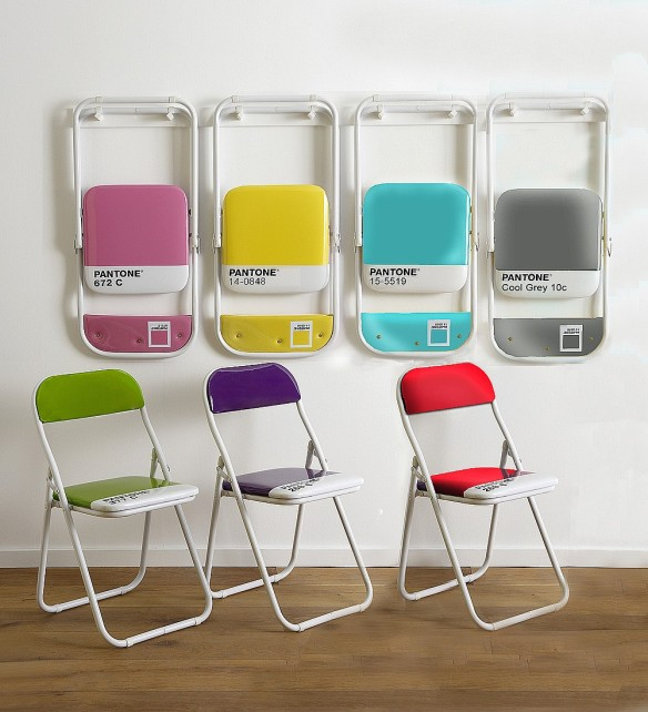 Pantone Color chairs