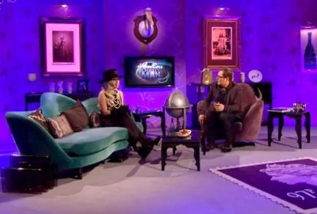 Alan Carr with Lady Gaga