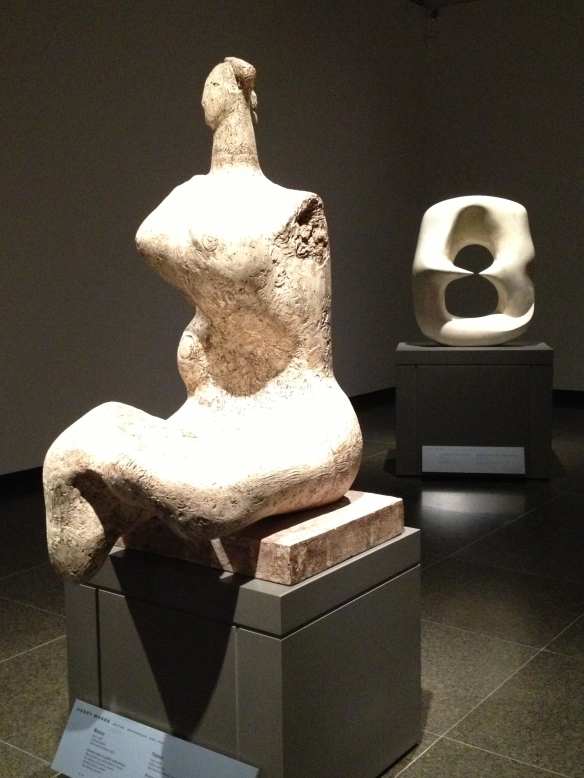 Henry Moore Woman and Oval With Points