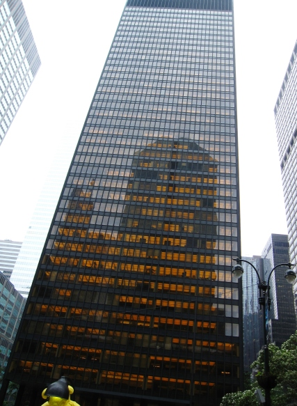 New York City Seagram Building Mies van der Rohe