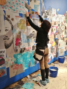 AGO Wheatpasting Workshop