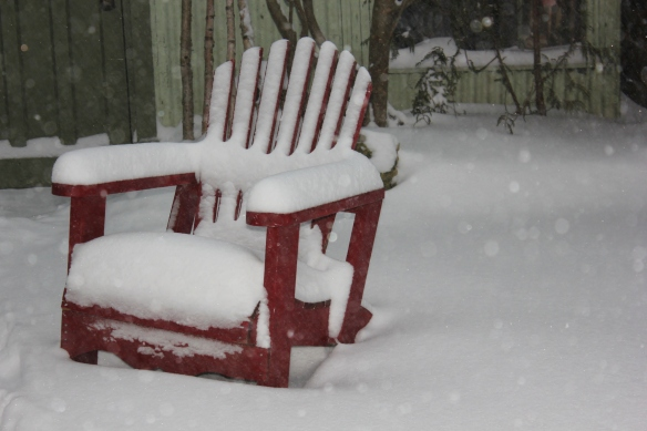 Muskoka Chair in Winter