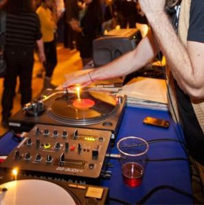 Spinning tunes at the AGO