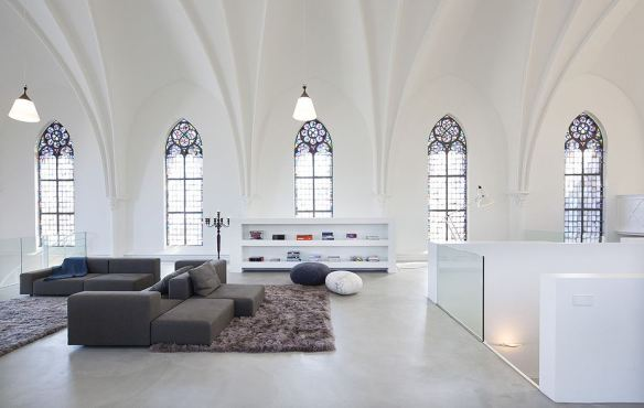 Converted Church interior