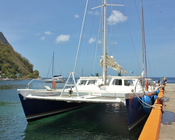 St Lucia catamaran