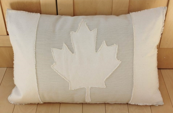Canada Flag Pillow.