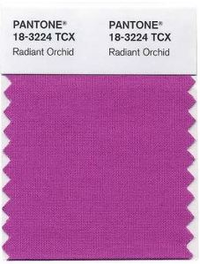 Pantone Radiant Orchid 2014