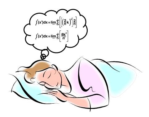 dreaming in math