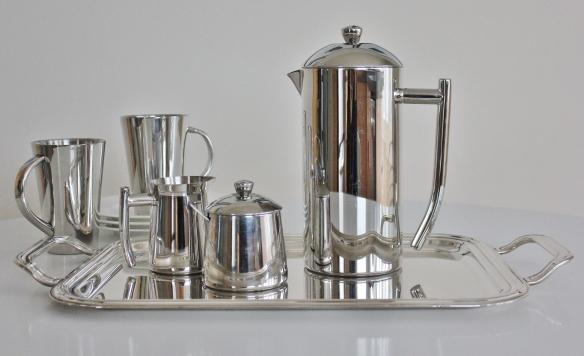 Tea Set Silver