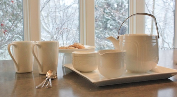 Tea Set White