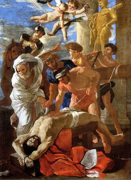 The Martyrdom of St Eramus
