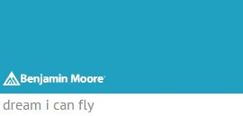 Benjamin Moore Dream I Can Fly