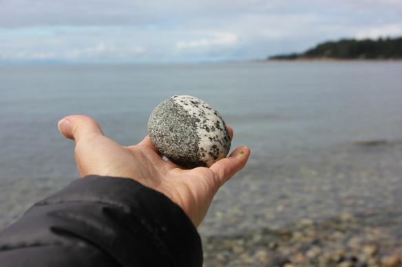 Sunshine Coast, granite rock