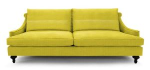 Jonathan Adler Yellow sofa
