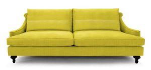 Jonathan Adler Yellow sofa