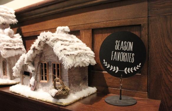 PC Home Holiday Birch Bark Cabin