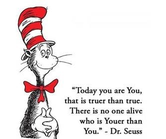 Dr Seuss Youer than You