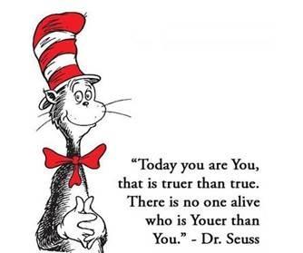 Dr Seuss Youer than You